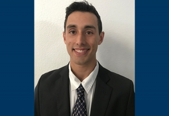Chemical engineering student Austin Morales
