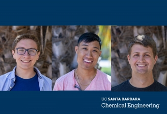 (left to right) Kevin Modica, Phong Nguyen, Daniel Arnold